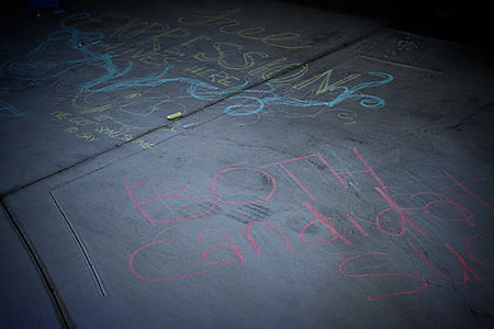 Chalk drawings two