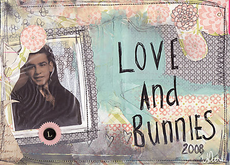 Love and bunnies cover