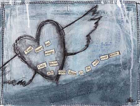 Winged-heart-mail-art