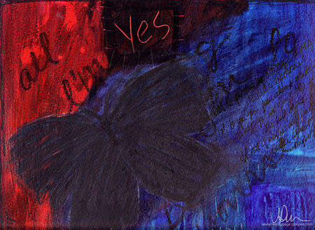 Butterfly-blue-red