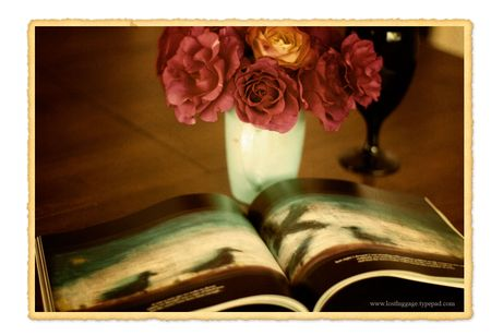 Flowers-and-book
